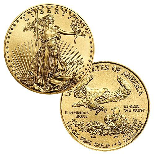 2018 Gold American Eagle 1/10 Ounce $5 Brilliant Uncirculated