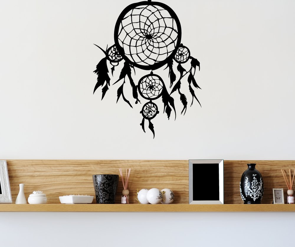amazon com stickerbrand american indian vinyl wall art dream amazon com stickerbrand american indian vinyl wall art dream catcher wall decal sticker multiple colors available 36