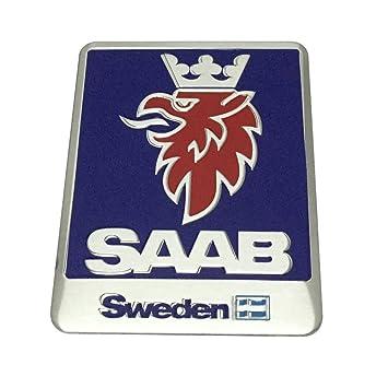 1pcs Car Styling Accessories Saab Sweden Emblem Badge Decal Sticker