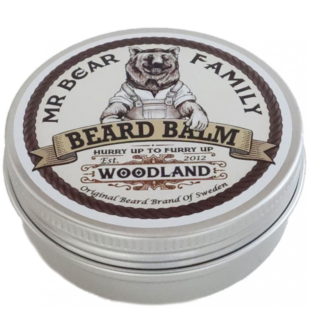 Mr Bear Beard Balm Woodland