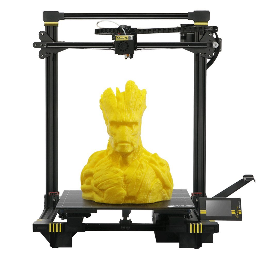 anycubic chiron, anycubic chiron review, large 3d printer