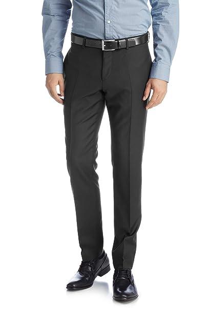 Esprit Pantalón de traje slim fit para hombre, talla 50 ...