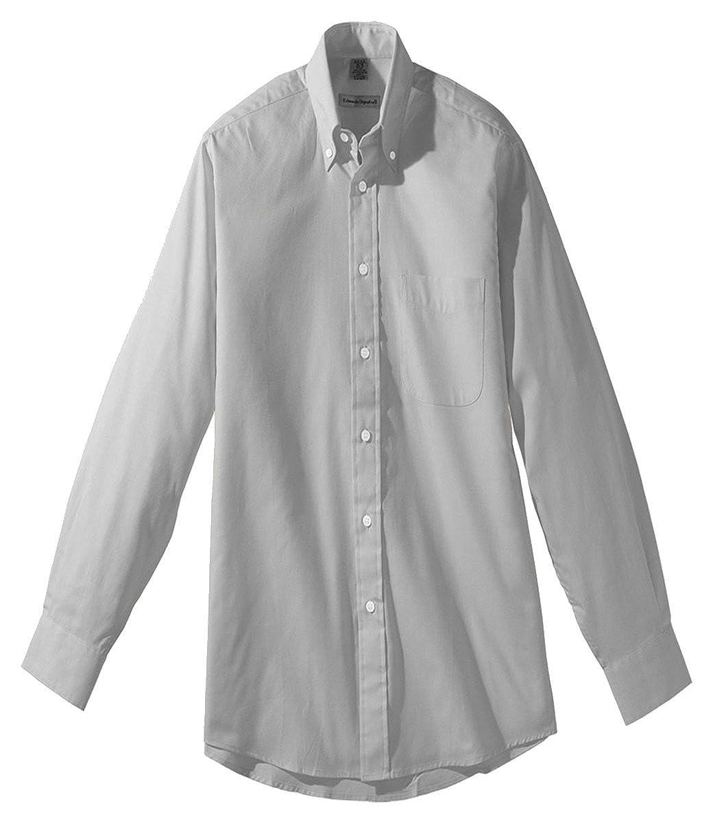 Edwards Garment Mens Long Sleeve Cuff Button Down Collar Oxford Shirt