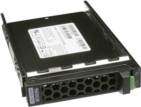 Fujitsu Server TX1320 M4 - Disco Duro SSD (960 GB, 2,5
