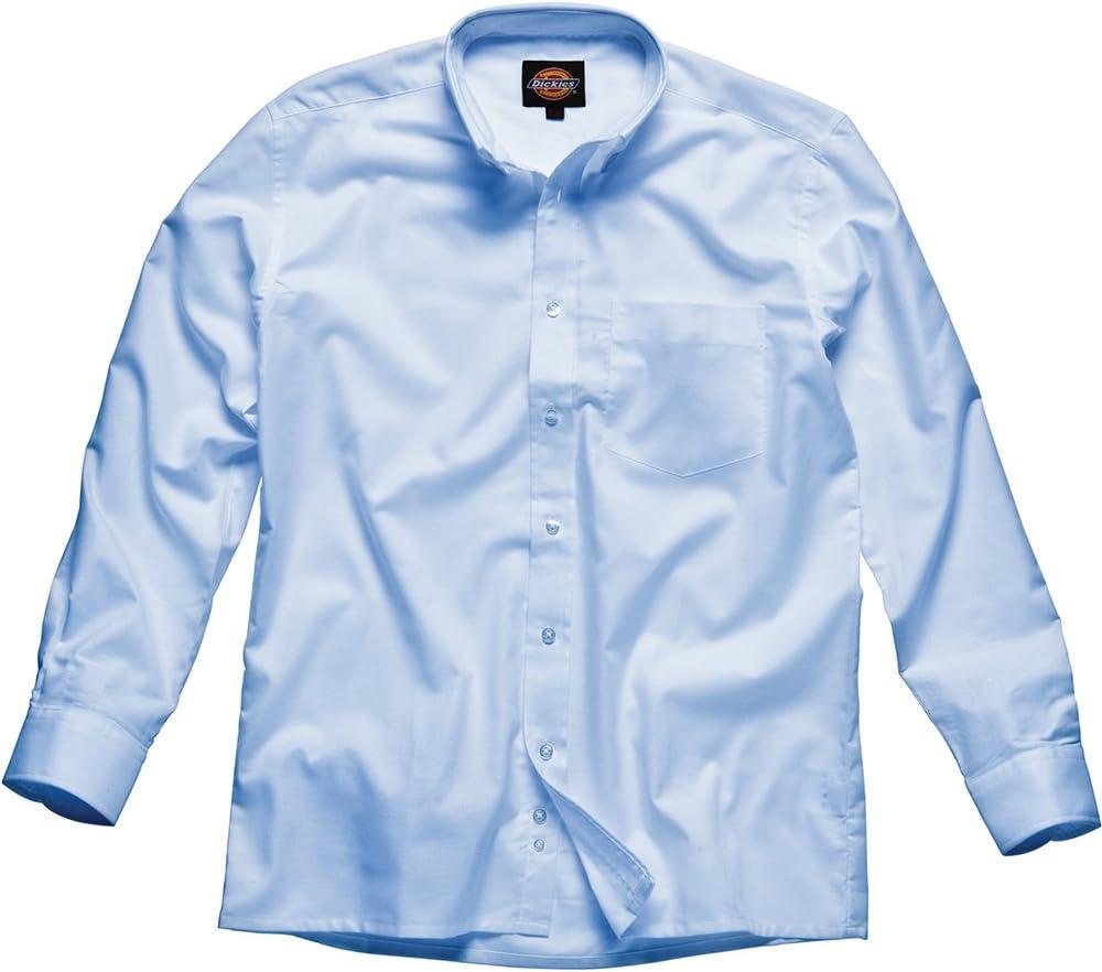 Dickies - Camisa Oxford de hombre, Azul, SH64200 BU 19: Amazon.es: Bricolaje y herramientas