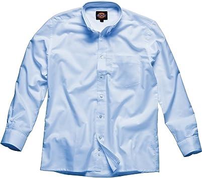 Dickies - Camisa Oxford de hombre, Azul, SH64200 BU 16+: Amazon.es: Bricolaje y herramientas