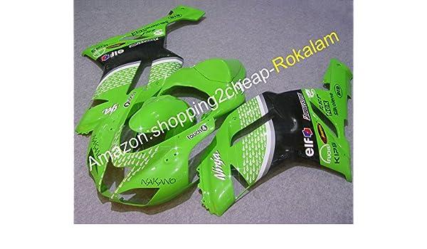 ZX6R 07 08 Moto Body Kit de carenado para Kawasaki Ninja ZX ...