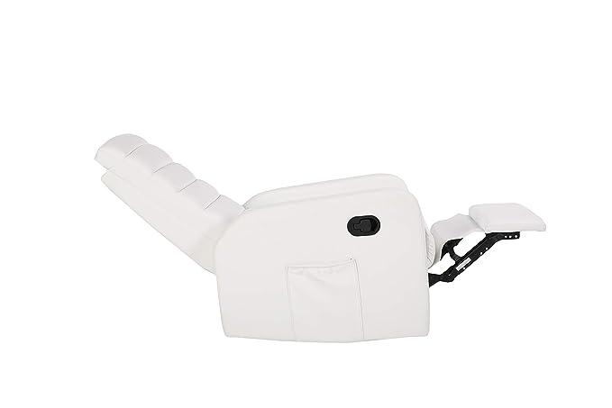 VIDA 10 Sillón de Masaje Blanco White Confort: Comodidad y ...