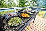 Lodge Pre-Seasoned Cast Iron Grill Pan With