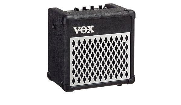 Vox DA5 - vxda5 - Guitarra Combo, 5 W, Amp/FX Modelado, Negro: Amazon.es: Instrumentos musicales