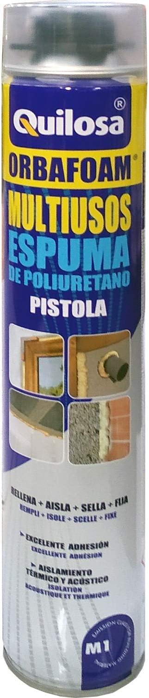 Espuma de Poliuretano Orbafoam Quilosa para Pistola Caja de 12 Unidades Llavero Destapador Bricolemar de Regalo!