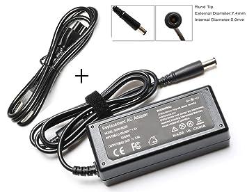 Amazon.com: 65 W adaptador cargador cable de alimentación ...