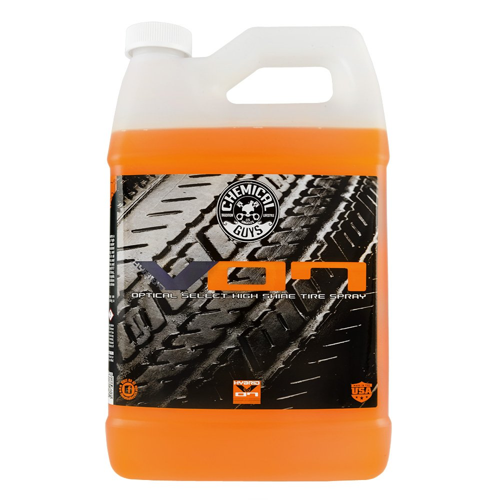 Chemical Guys TVD808 Optical Select Tire Shine (Hybrid V07,1Gal), 128 fl. oz