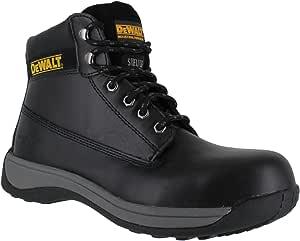 Dewalt Apprentice Safety Boots, 40 EU, 60011-101-40, Black