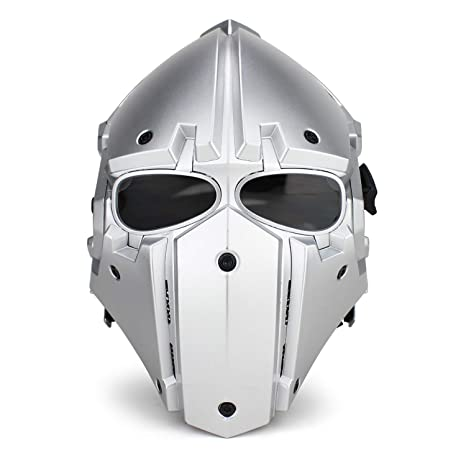 JohnnyLuLu Casco Militar táctico, Caballero de Hierro ...