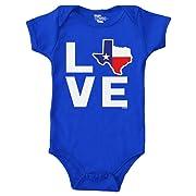 Love Texas Map Bodysuit