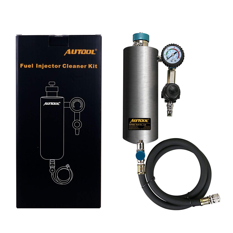 C80 Limpiador de Inyector de Automóvil sin Desmontar Limpiador de Inyector de Combustible Automático 600ML 140PSI: Amazon.es: Coche y moto
