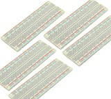 5pcs 830-Points Solderless Breadboard with Adhesive Tape PCB Board Kit for Proto Shield Circboard Prototyping