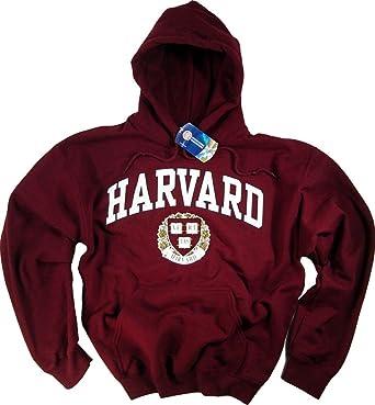 Officially Licensed by Harvard University Harvard Camiseta Sudadera con Capucha Sudadera Universidad Camiseta Derecho de la Empresa Ropa Prendas de Vestir: ...