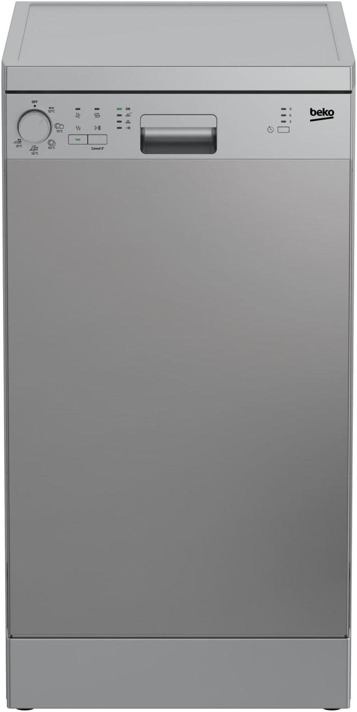 Beko - Lavavajillas DFS05011X con 5 programas: 254.1: Amazon.es ...