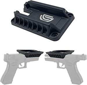 DD Quickdraw Gun Magnet & Magnetic Gun Mount - Holster - Concealed Tactical Firearm,Concealed in Cabinet,Vehicle,Truck,Cashier,Table,car