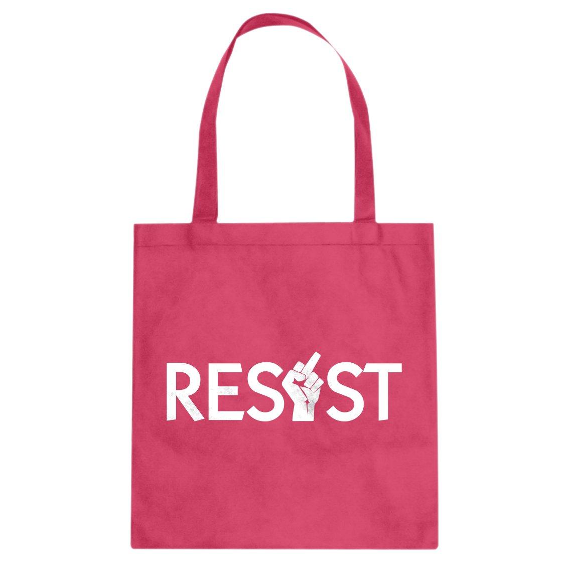 Indica Plateau Resist Finger Cotton Canvas Tote Bag