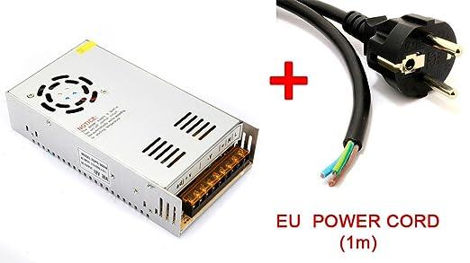 12V 30A 360W Fuente de alimentación Impresora 3D Power ...