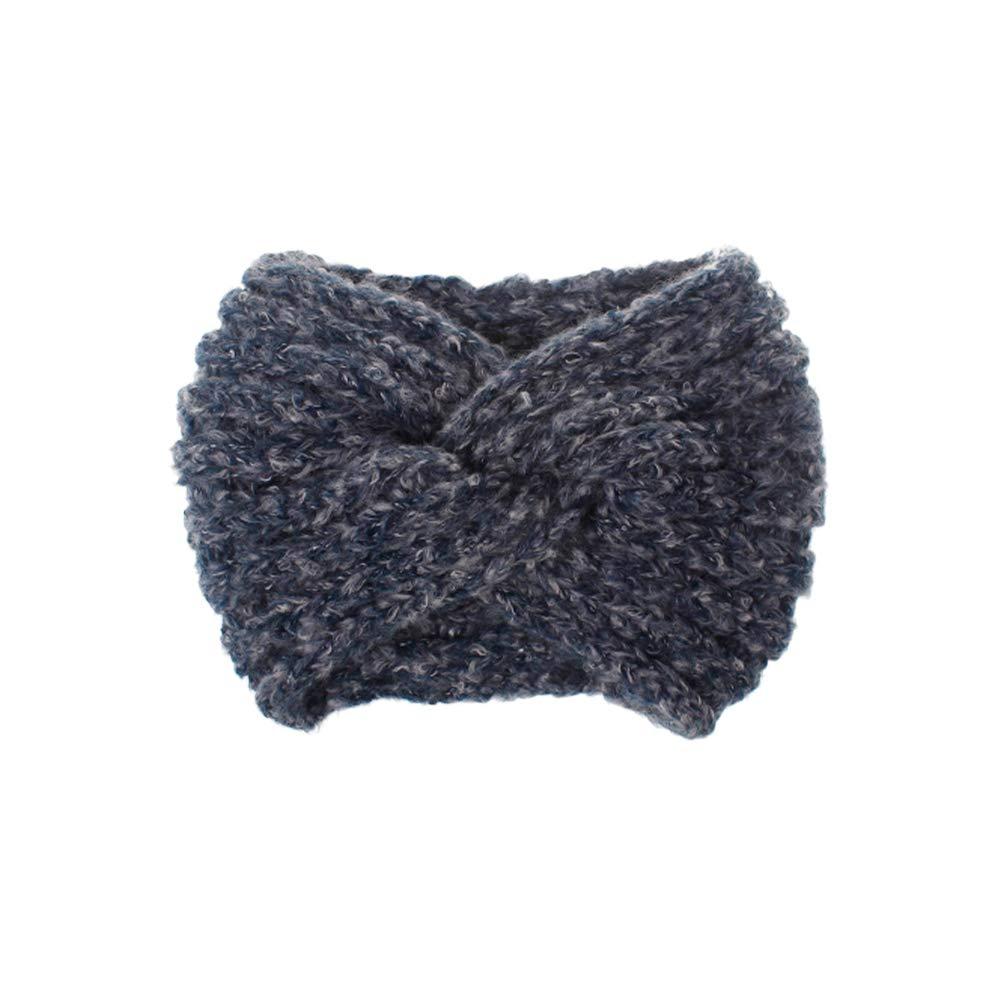 LEORX Knot Headband Woolen...