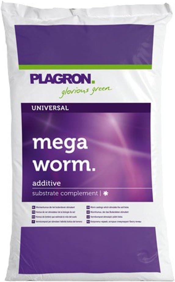 Sustrato para el cultivo Humus de Lombriz Plagron Mega Worm (25L)