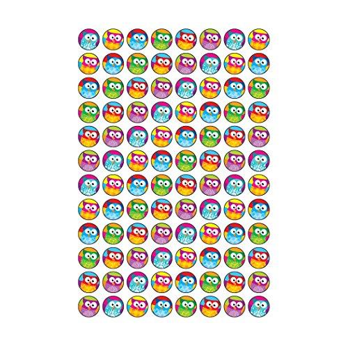 Trend Enterprises Owl-Stars! Super Spots Stickers, 800 per Package (T-46194) Photo #3