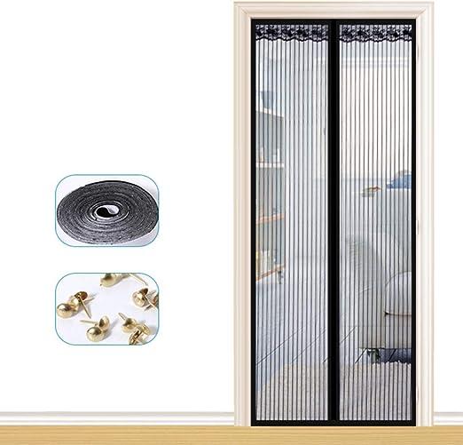 WXLJJYPD Mosquitera Magnética Automático para Puertas Gancho ...