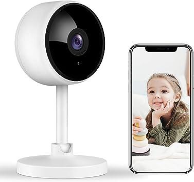 Opinión sobre Cámara de vigilancia Littlelf 1080P HD WlAN IP, cámara WiFi con 2 vías de audio, monitor de bebé, detección de movimiento, cámara interior para bebés, visión nocturna con Alexa