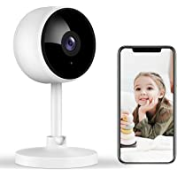 Indoor Security Camera, Littlelf 1080P Home Wifi Wireless Camera with 2-Way Audio Night Vision…