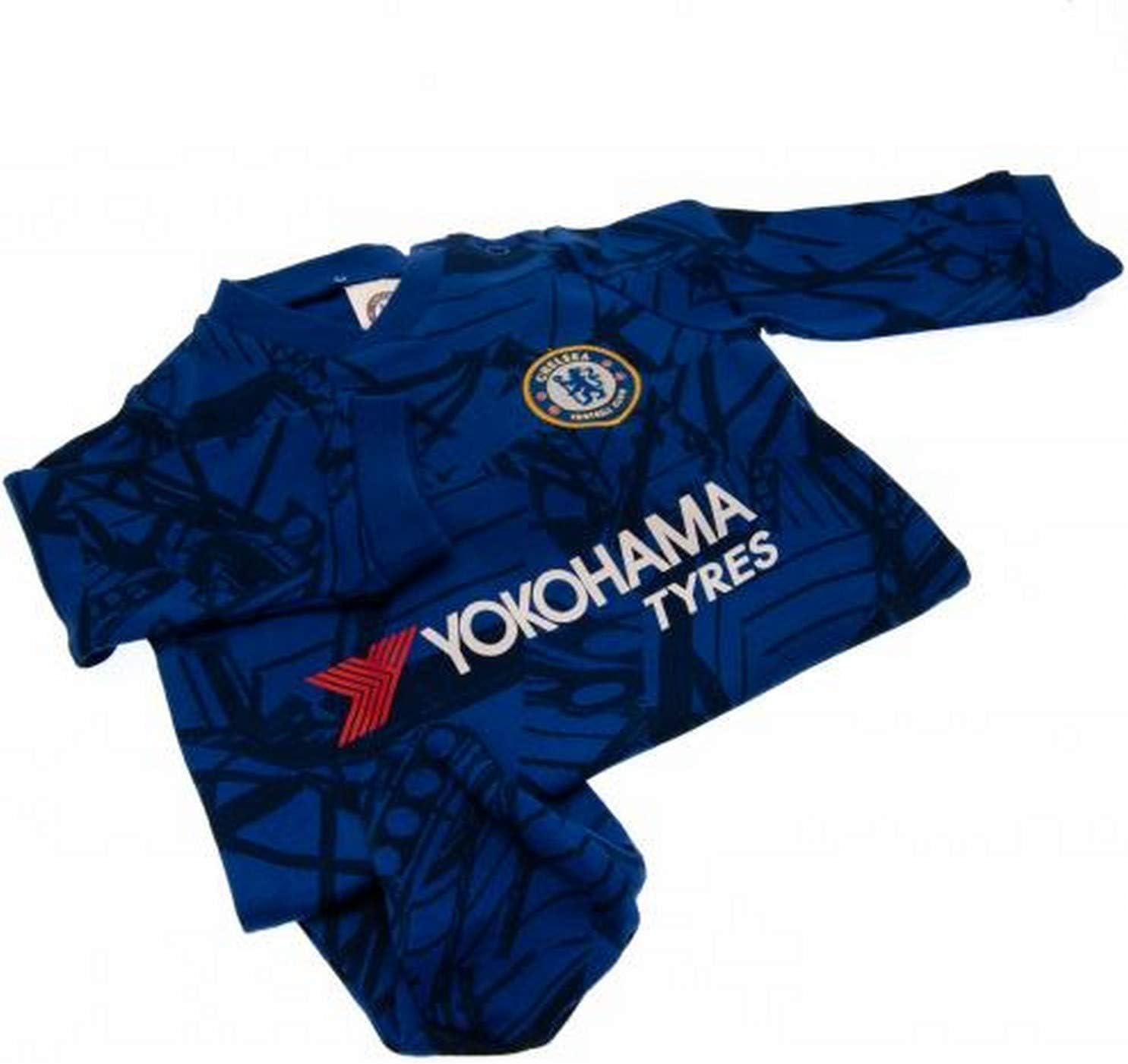 Premier League Baby Boys Chelsea Football Club Sleepsuit