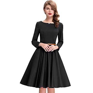 1e0f8e255c7 Silk   Shiny Designer Plain Full Sleeve Western A-line Frock Dress For Girls