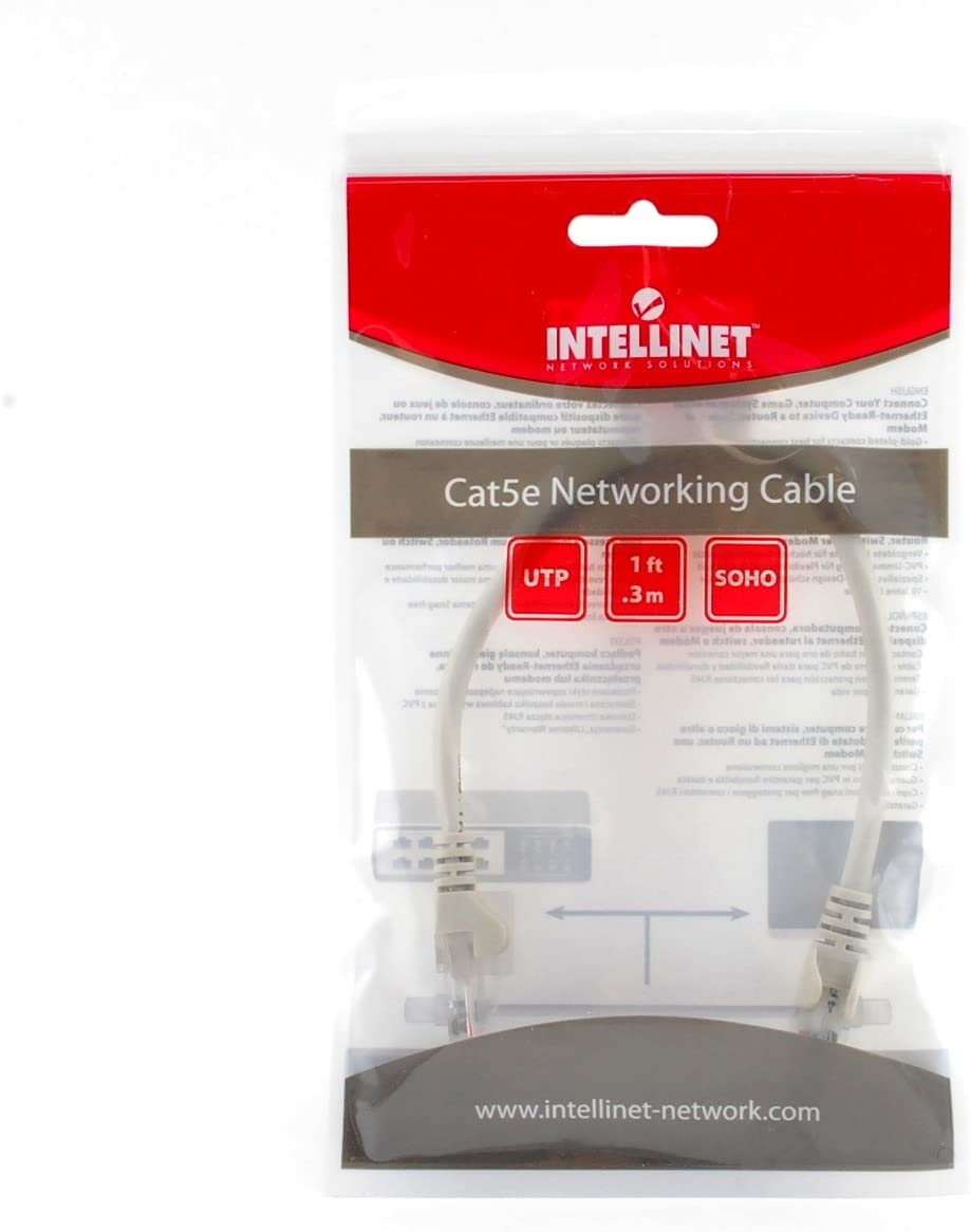 1ft Cat5e Soho Network Patch Cable Intellinet 732116