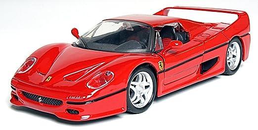 Amazon.com: Maisto 1:24 Scale embly Line Ferrari F50 Diecast ...