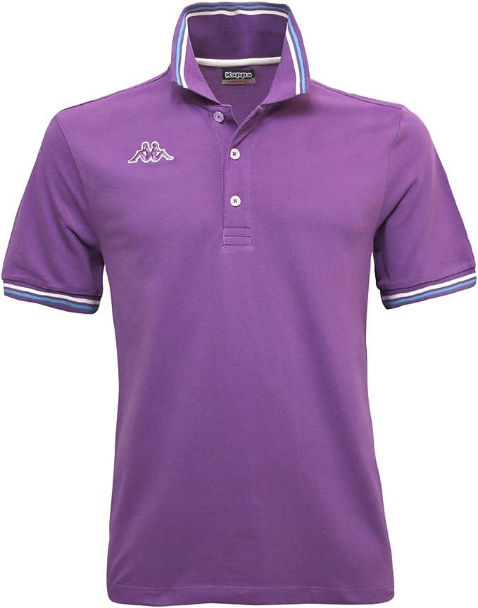 Kappa Polo Uomo T-Shirt Piquet Mare Sport Tennis Barca Calcio Art Maltax 5 Mss
