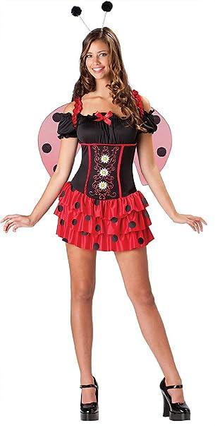 Attractive Amazon.com: In Character Teen Junior Girls Lady Bug Ladybug Halloween  Costume: Clothing