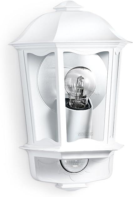 LANTERNA muro Sensore di facciata continua Vetro Illuminazione Lampada Esterno e27 Big LIGHT