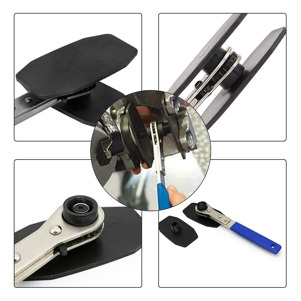 NEWCOMDIGI Car Ratchet Brake Piston Wrench Caliper Press Spreader Tool by NEWCOMDIGI (Image #4)