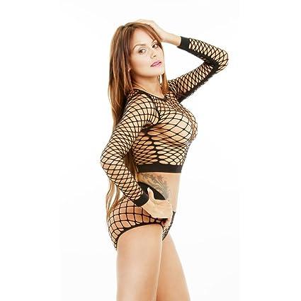 Lencería sexy Erotica Koly Women Interior Sexy Atrevida Transparente Bodies Ropa de dormir 1 conjunto ropa