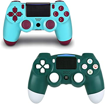 Paquete de 2 mandos inalámbricos para PS4 Mando a Distancia para ...