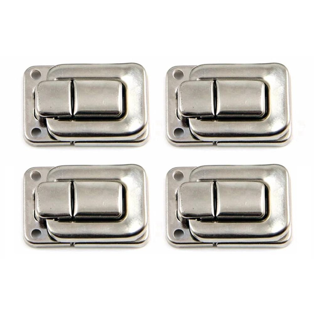 4 x Toggle latch lock catch chest clasp tool flight case suitcase box 37mm x 25mm R SODIAL