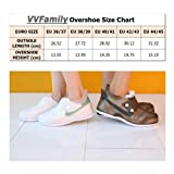 VVFamily Durable Rain Shoe Cover Waterproof