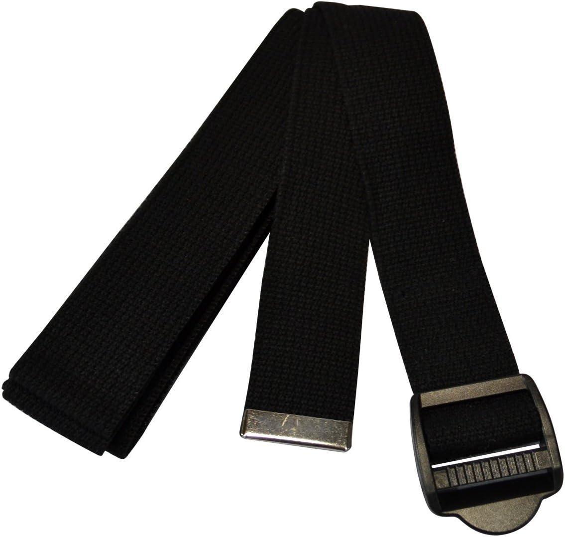YogaAccessories 10 Cinch Buckle Cotton Yoga Strap