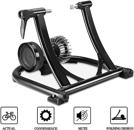GSTARKL Rodillo Bicicleta, Bicicleta de Acero, Soporte magnético con Rueda de reducción de Ruido: Amazon.es: Deportes y aire libre