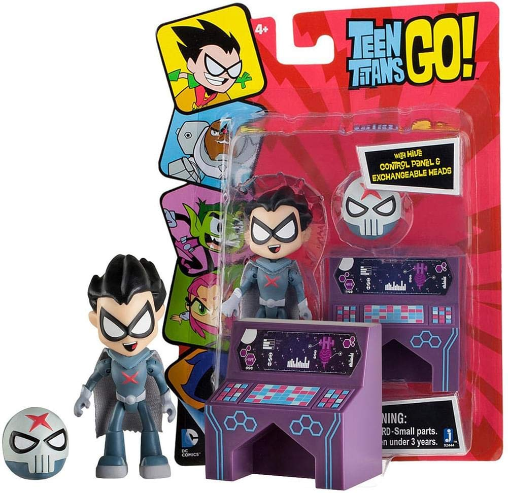 Promoción por tiempo limitado Teen Titans Go Red X 3 Figure by Jazwares