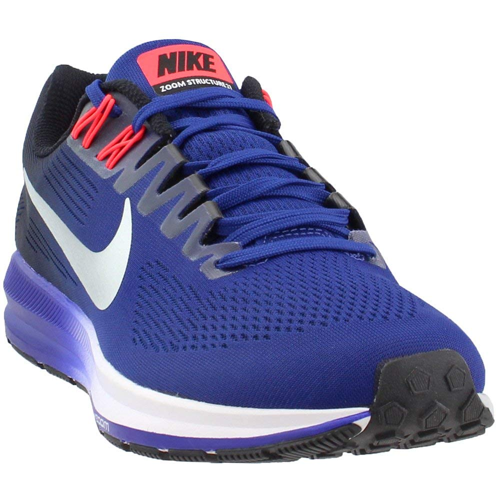 0df9c37078d1 Galleon - Nike AIR Zoom Structure 21 Mens Road Running Shoes 904695-401 Size  7.5 D(M) US Deep Royal Blue