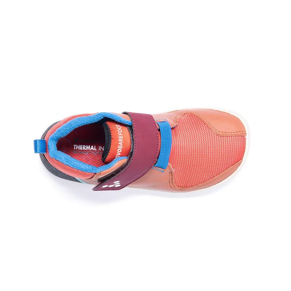 Chaussures Vivobarefoot Primus Bootie Kids Cuir Terracotta